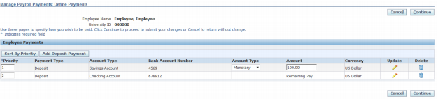 Managing Direct Deposit Payments With Another Account