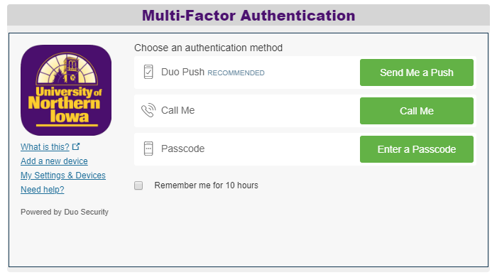 Multi-factor authentication
